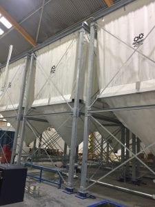 Flexible silos