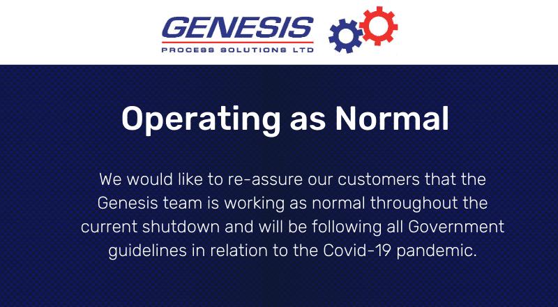 Genesis Covid 19 Shutdown 2